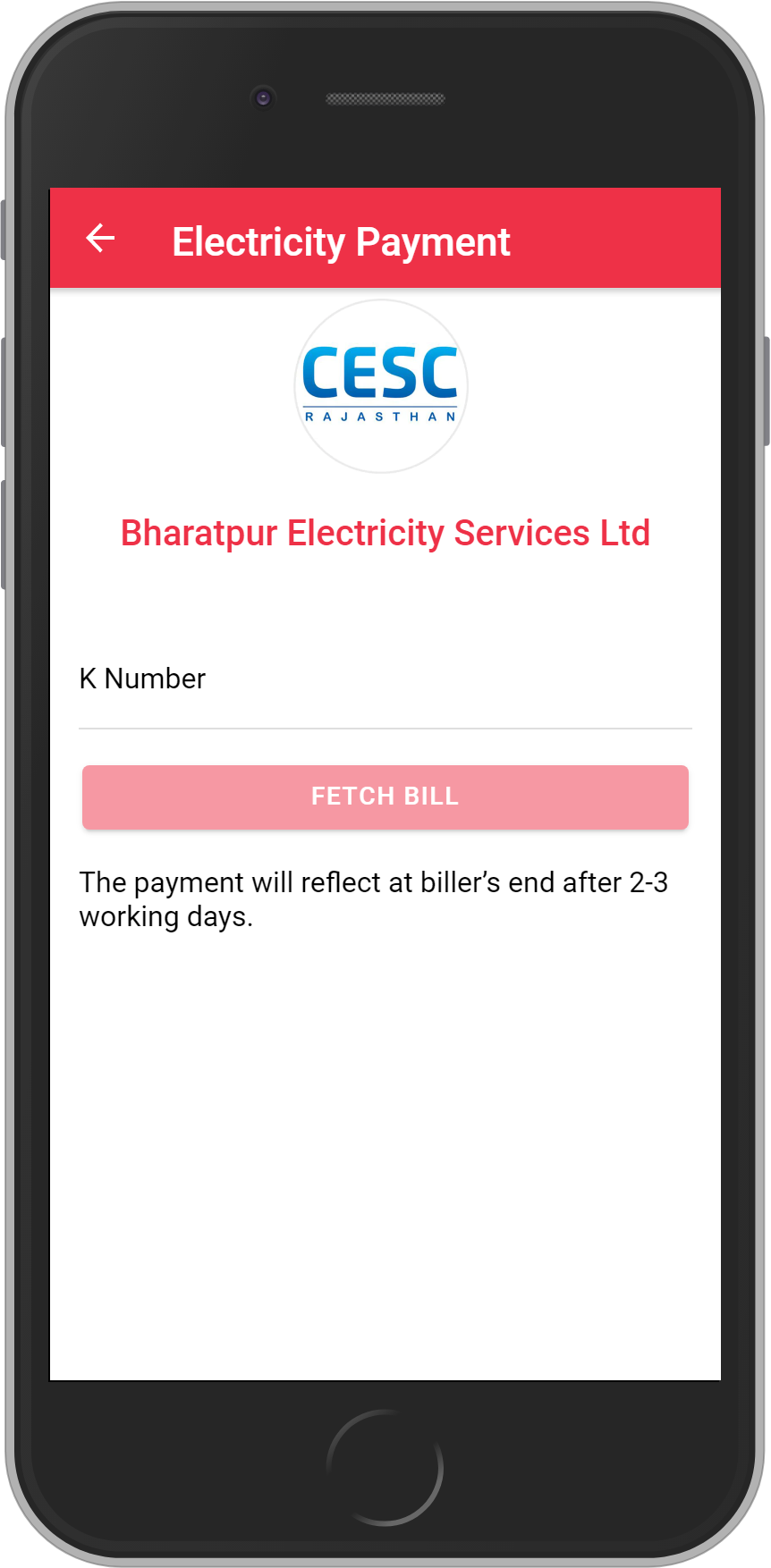 Get UNLIMITED <b>0.1%</b> CASHBACK on Bharatpur Electricity Services Ltd Bill Payment.