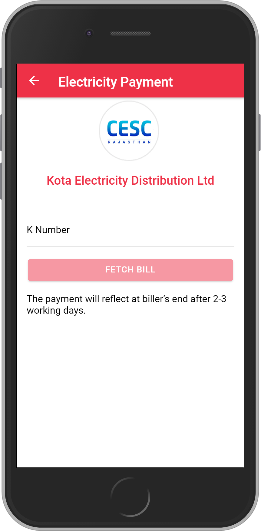 Get UNLIMITED <b>0.1%</b> CASHBACK on Kota Electricity Distribution Ltd. (KEDL) Bill Payment.