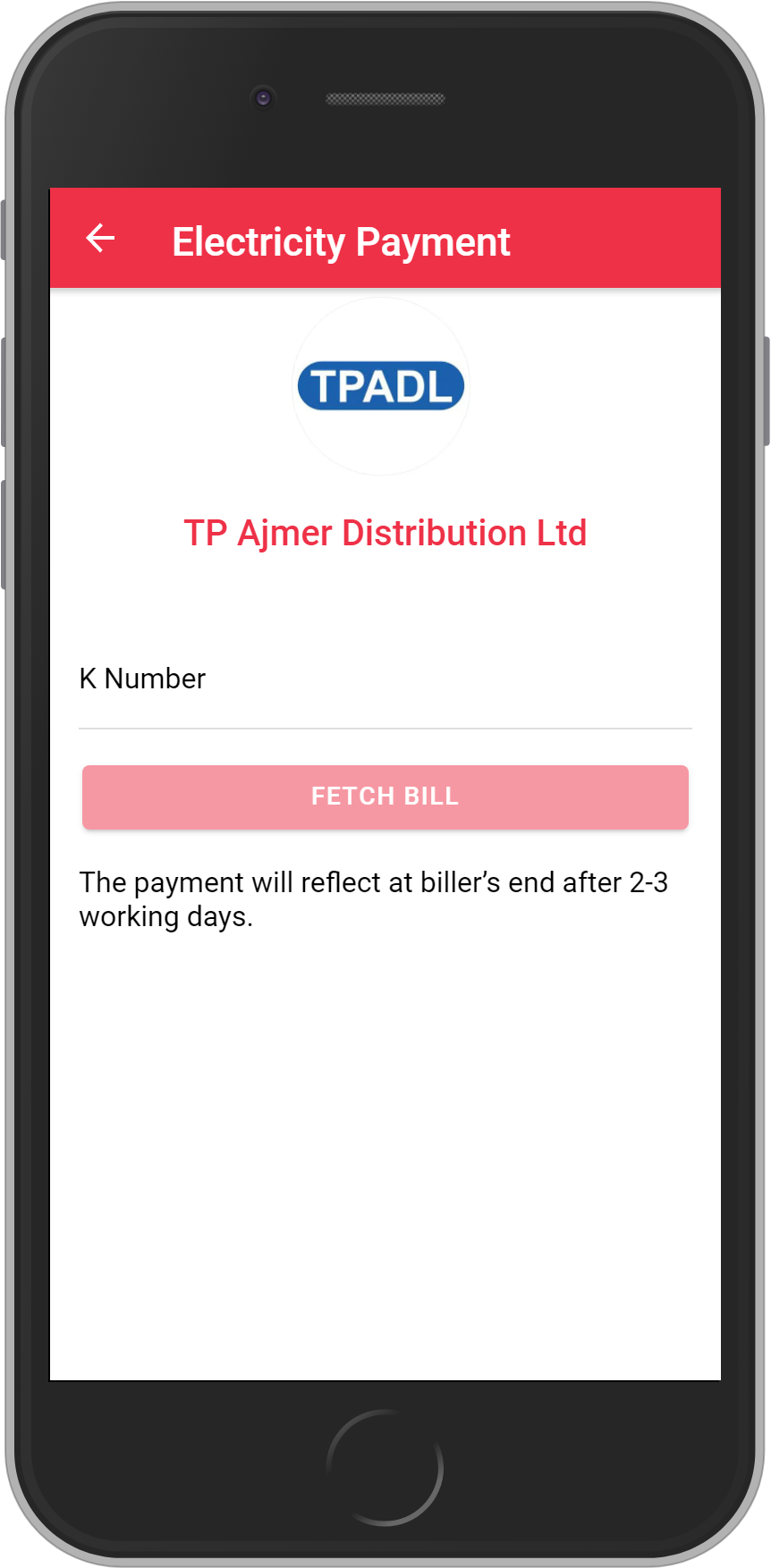 Get UNLIMITED <b>0.1%</b> CASHBACK on TP Ajmer Distribution Ltd. Bill Payment.