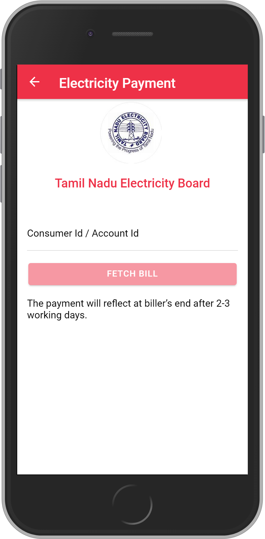 Get UNLIMITED <b>0.1%</b> CASHBACK on Tamil Nadu Electricity Board (TNEB) Bill Payment.