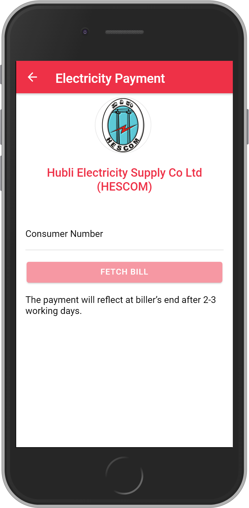 Get UNLIMITED <b>0.1%</b> CASHBACK on Hubli Electricity Supply Co Ltd (HESCOM) Bill Payment.