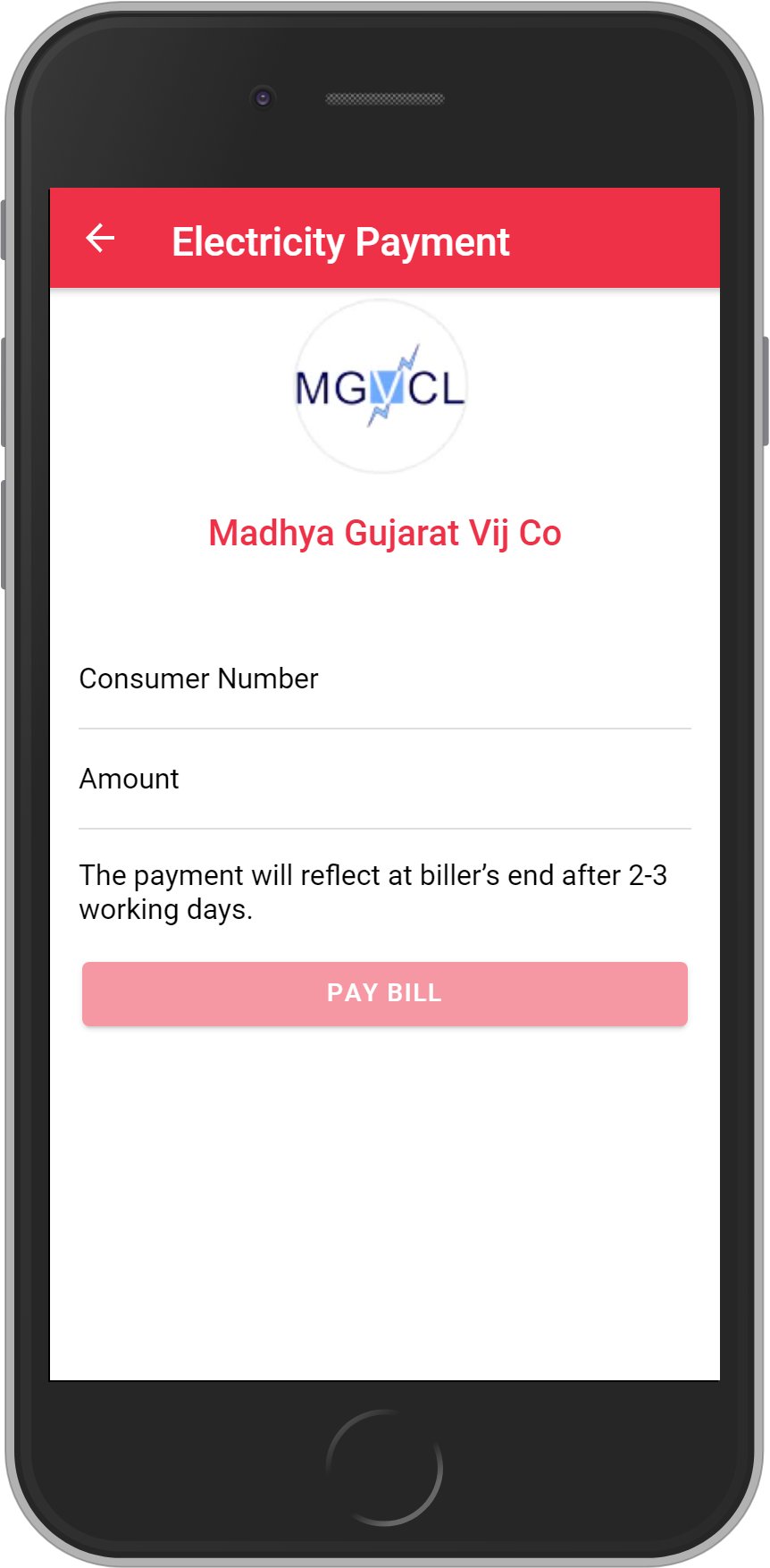 Get UNLIMITED <b>0.1%</b> CASHBACK on Madhya Gujarat Vij Company Bill Payment.