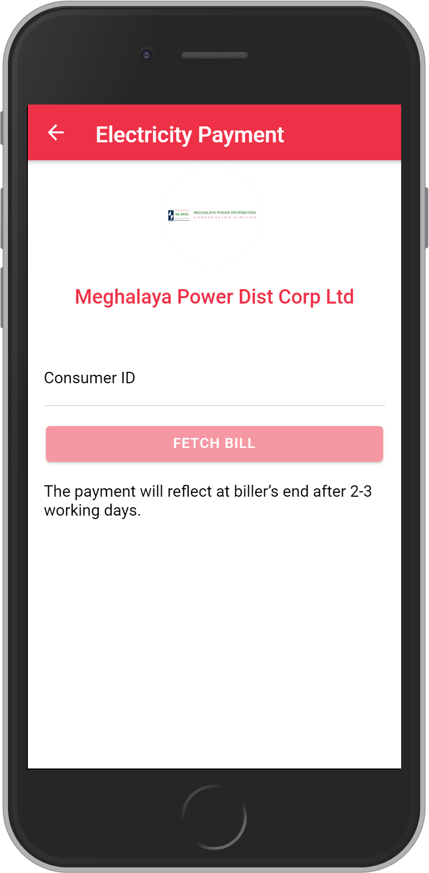 Get UNLIMITED <b>0.1%</b> CASHBACK on Meghalaya Power Dist Corp Ltd Bill Payment.