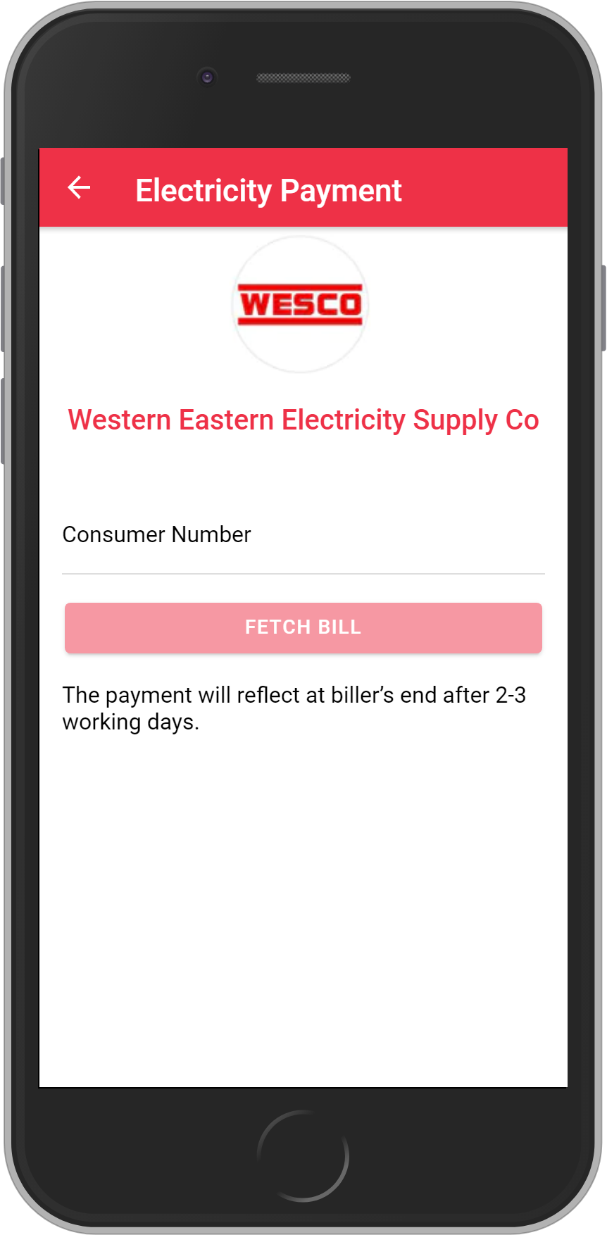 Get UNLIMITED <b>0.1%</b> CASHBACK on WESCO Utility Bill Payment.