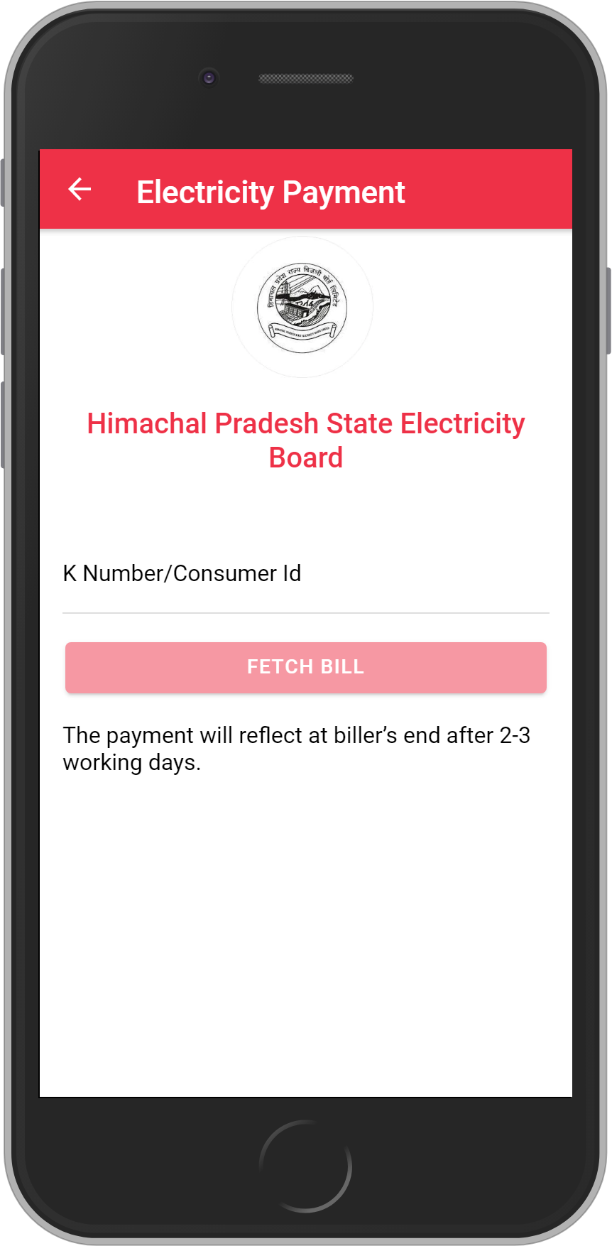 Get UNLIMITED <b>0.1%</b> CASHBACK on Himachal Pradesh State Electricity Board Bill Payment.