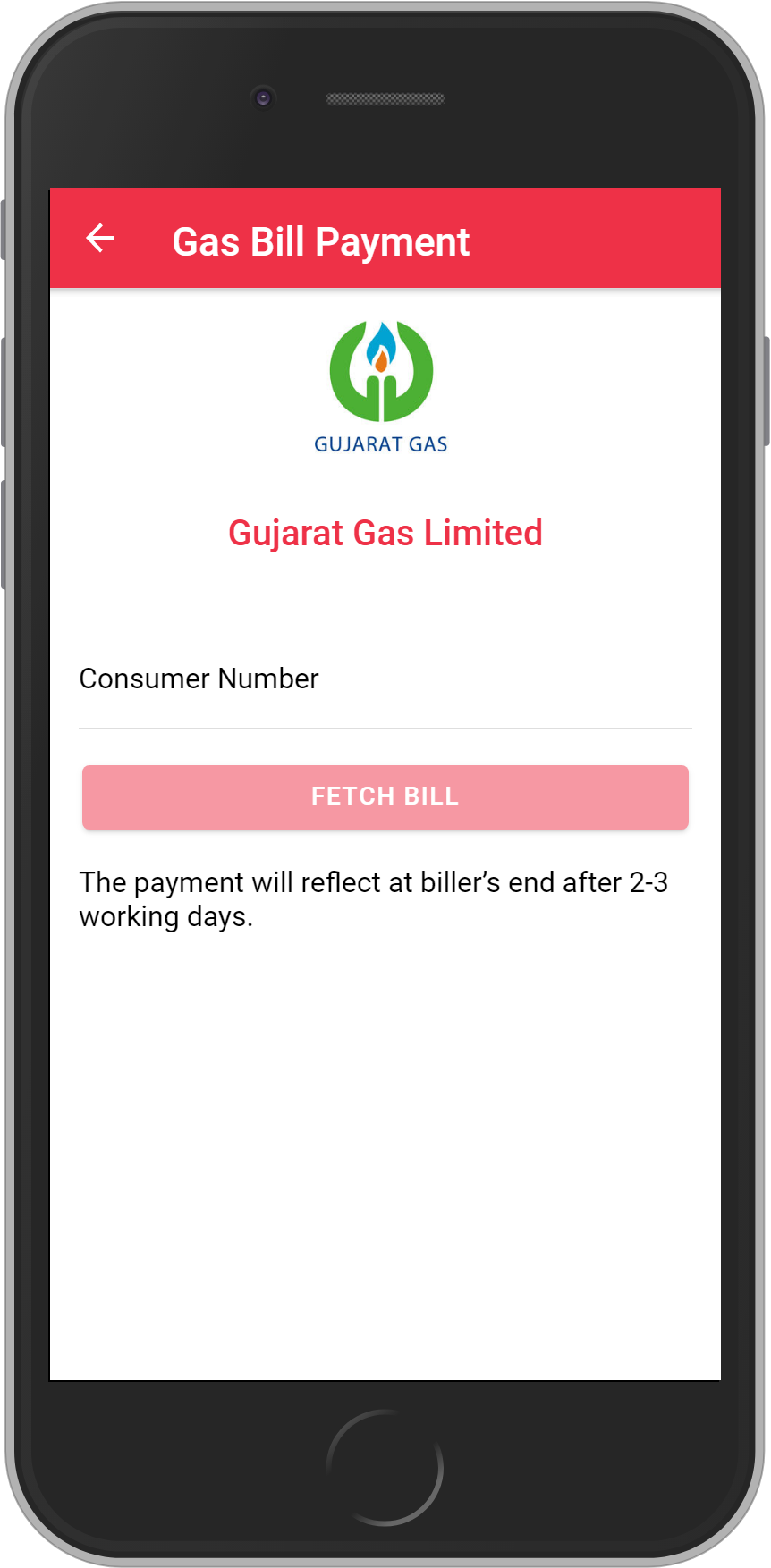 Get UNLIMITED <b>0.1%</b> CASHBACK on Gujarat Gas Limited Bill Payment.