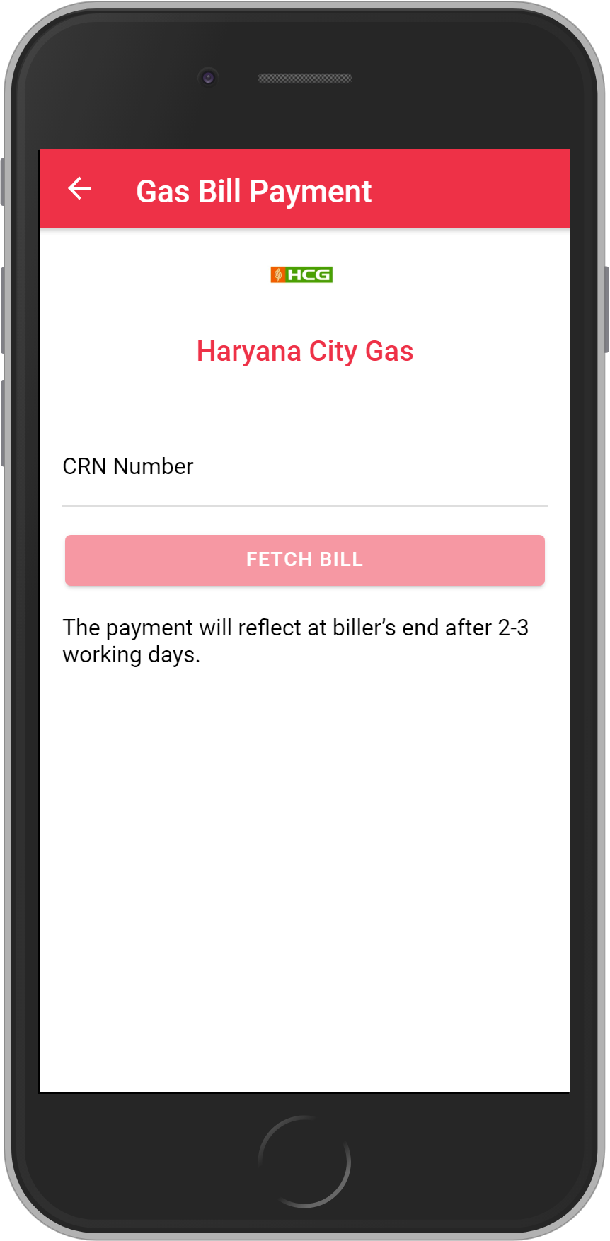 Get UNLIMITED <b>0.1%</b> CASHBACK on Haryana City Gas Bill Payment.