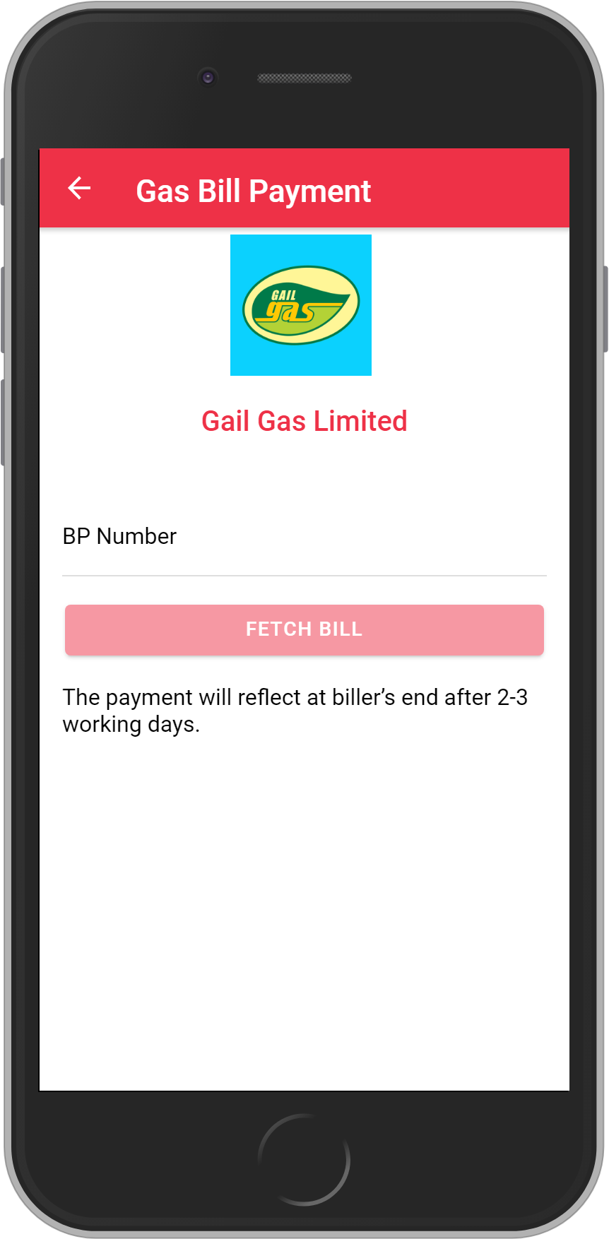 Get UNLIMITED <b>0.1%</b> CASHBACK on Gail Gas Limited Bill Payment.