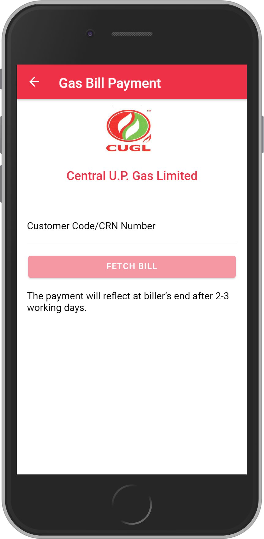 Get UNLIMITED <b>0.1%</b> CASHBACK on Central U.P. Gas Limited Bill Payment.