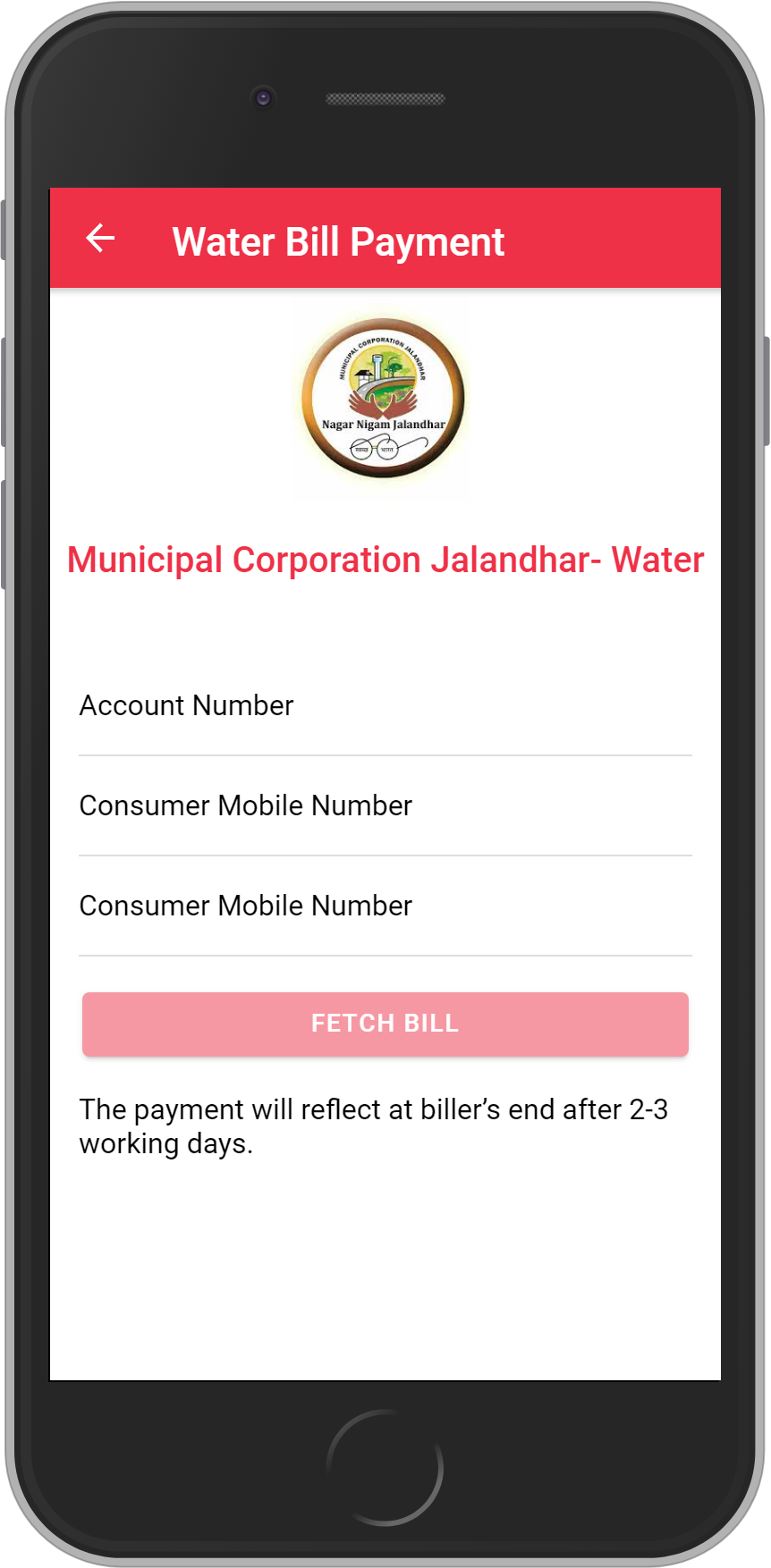 Get UNLIMITED <b>0.1%</b> CASHBACK on Municipal Corporation Jalandhar Bill Payment.