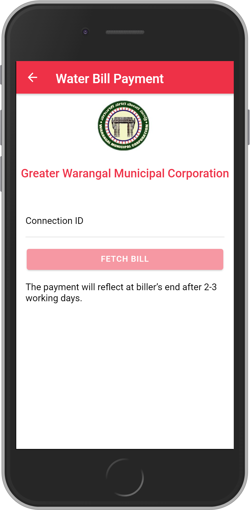 Get UNLIMITED <b>0.1%</b> CASHBACK on Ujjain Nagar Nigam – PHED Bill Payment.