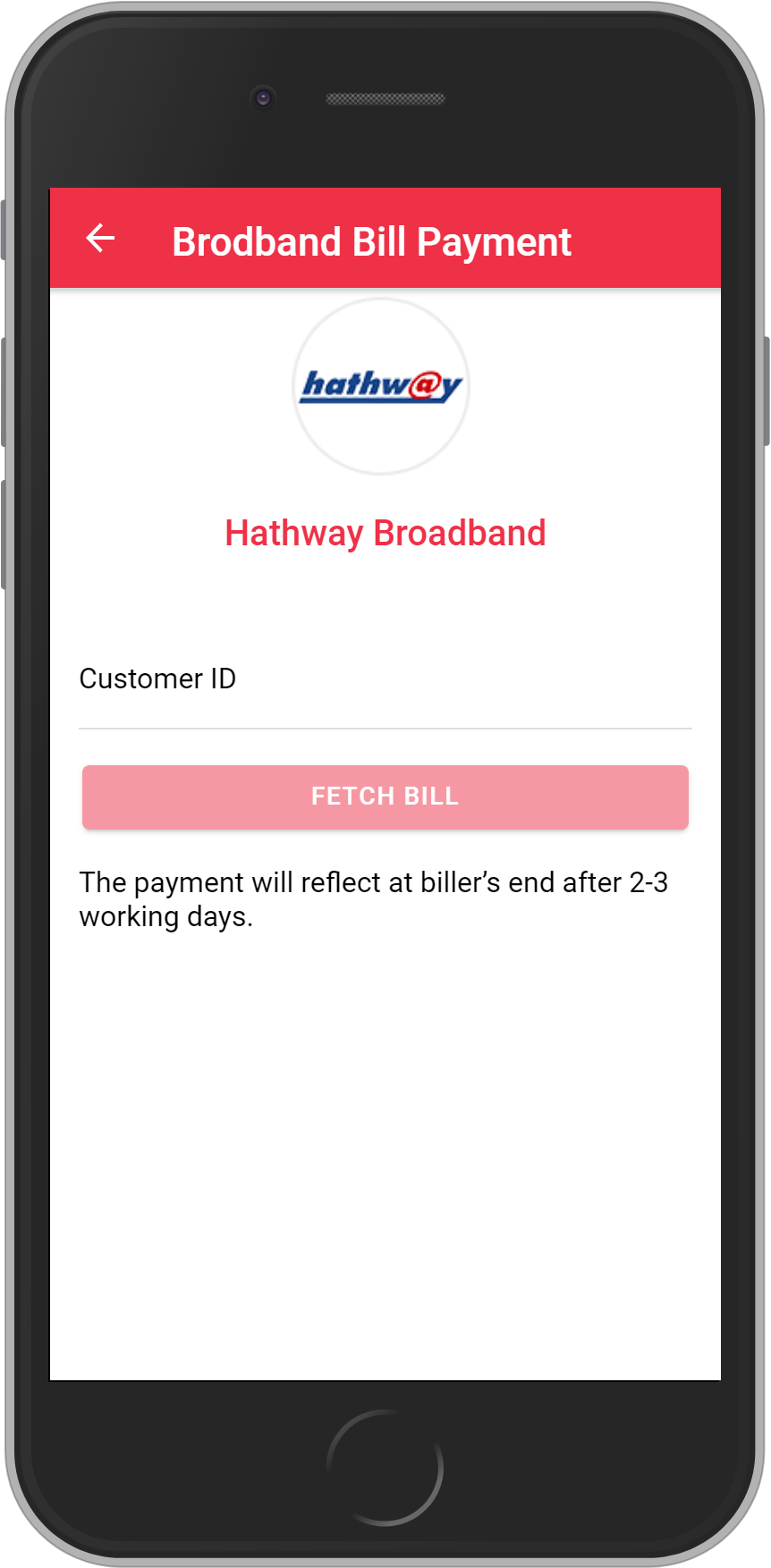 Get UNLIMITED <b>0.1%</b> CASHBACK on Hathway Broadband Bill Payment.