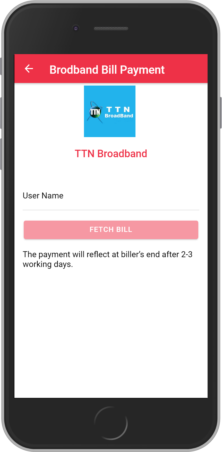Get UNLIMITED <b>0.1%</b> CASHBACK on TTN Broadband Bill Payment.