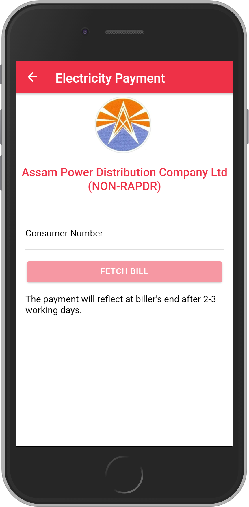 Get UNLIMITED <b>0.1%</b> CASHBACK on Assam Power Distribution Company Ltd (NON-RAPDR) Bill Payment.