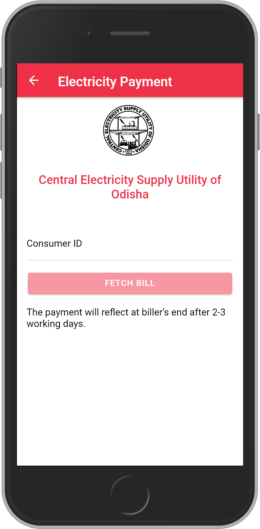 Get UNLIMITED <b>0.1%</b> CASHBACK on Central Electricity Supply Utility of Odisha Bill Payment.