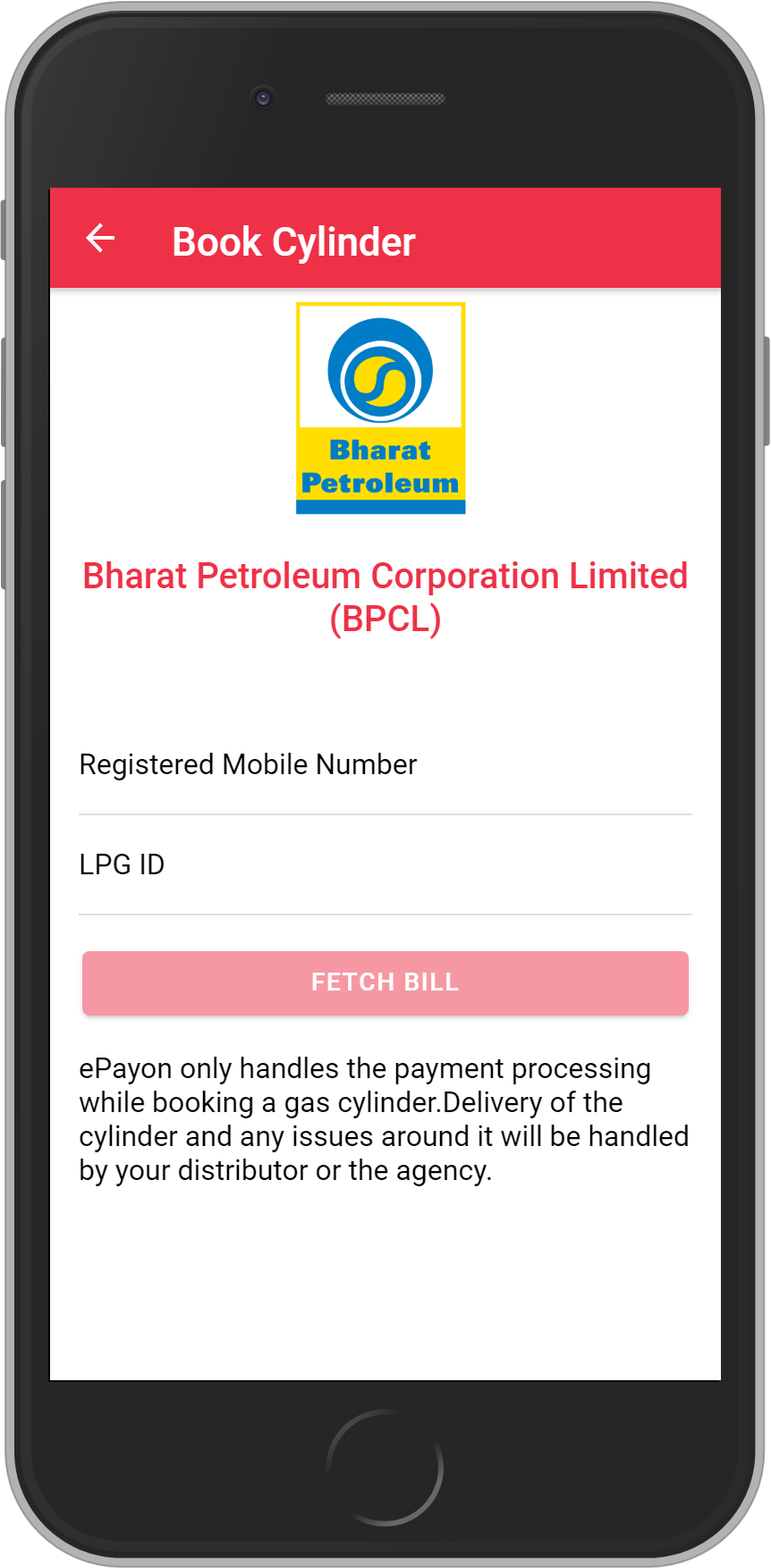 Get Rs. 10 on First cylinder booking(Every month) and than UNLIMITED <b>0.1%</b> CASHBACK on Bharat Petroleum Corporation Limited (BPCL)  Cylinder booking.