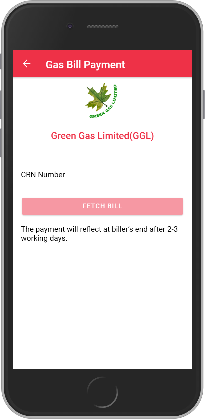 Get UNLIMITED <b>0.1%</b> CASHBACK on Green Gas Limited(GGL) Bill Payment.