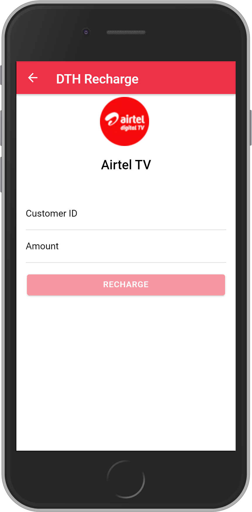 Get UNLIMITED <b>4%</b> CASHBACK on Airtel DTH Recharges.