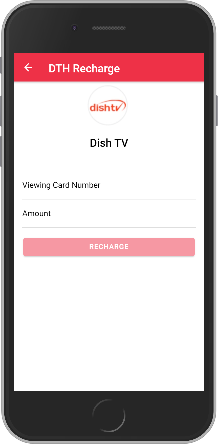 Get UNLIMITED <b>4%</b> CASHBACK on Dish TV Recharges.
