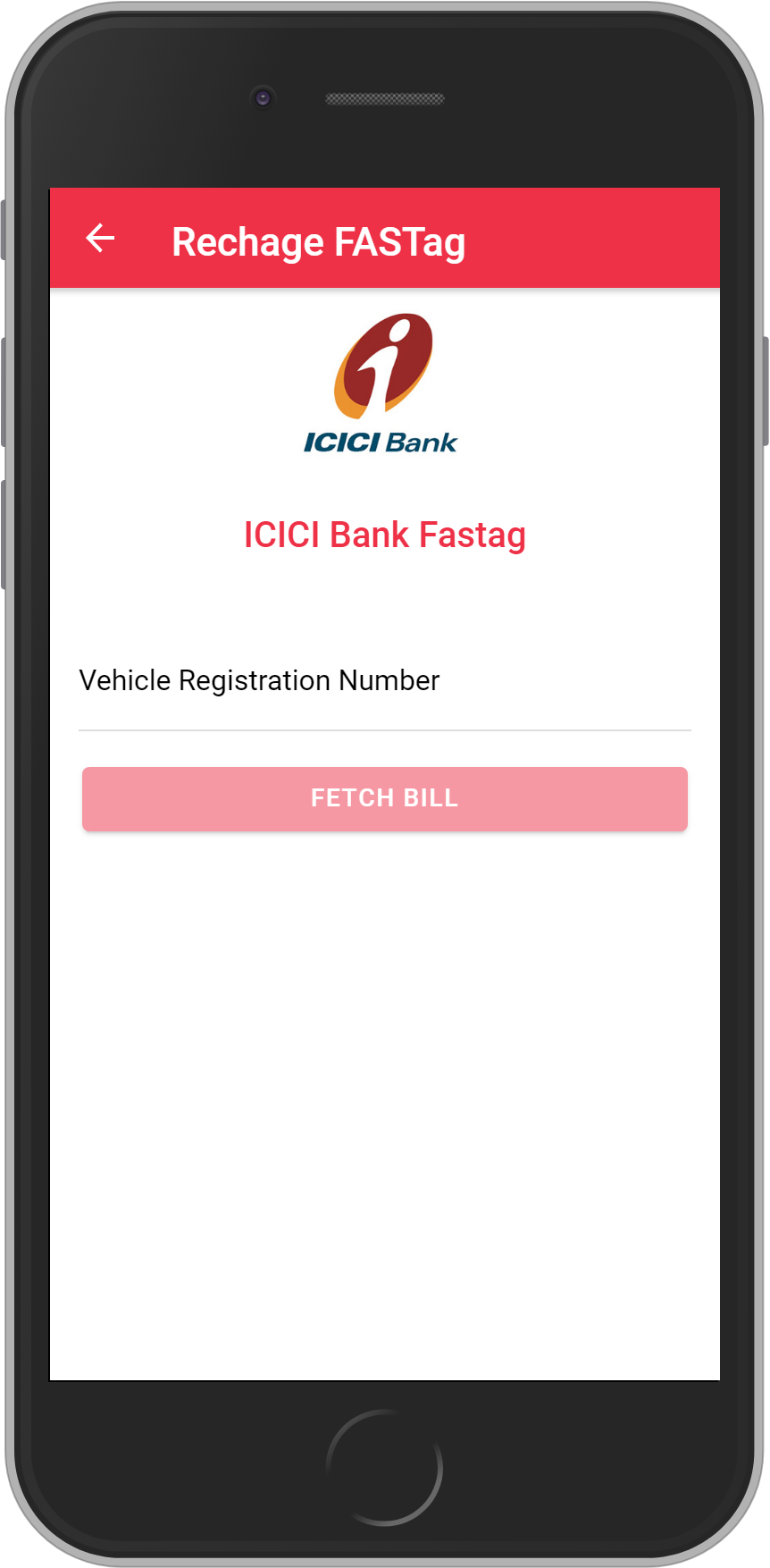 Get UNLIMITED <b>0.1%</b> CASHBACK on ICICI Bank Fastag Recharge.