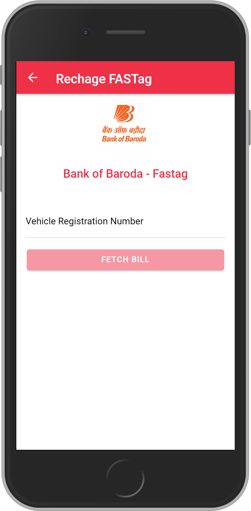 Get UNLIMITED <b>0.1%</b> CASHBACK on Bank of Baroda – Fastag Recharge.