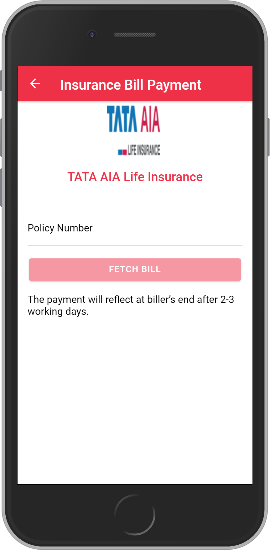Get UNLIMITED <b>0.10%</b> CASHBACK on TATA AIA Life Insurance Payment.