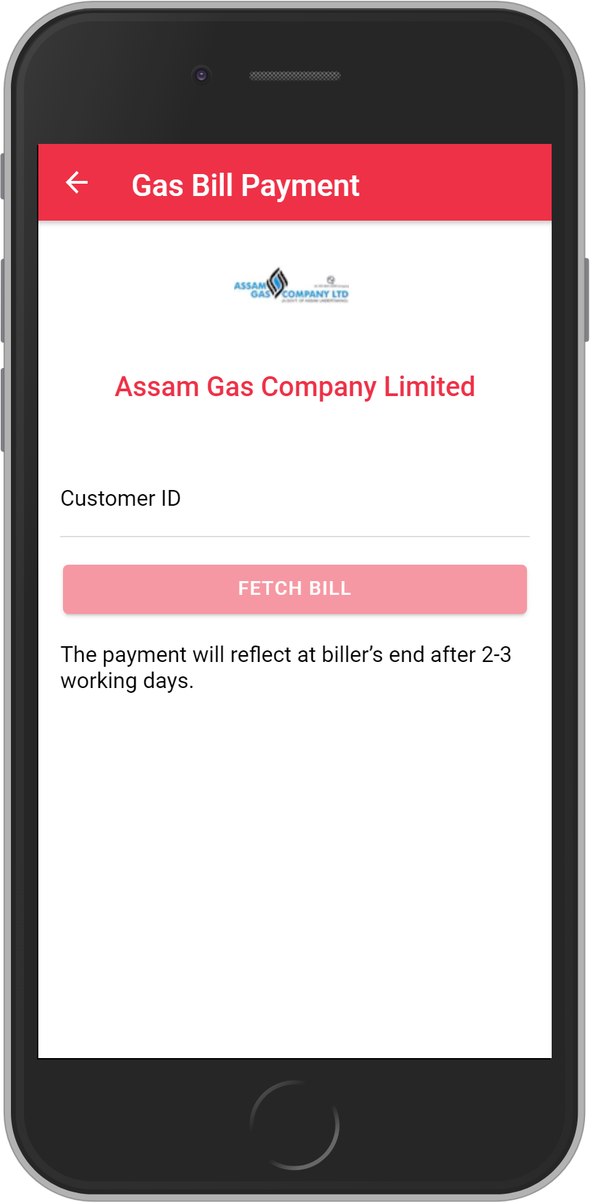 Get UNLIMITED <b>0.1%</b> CASHBACK on Assam Gas Company Limited Bill Payment.
