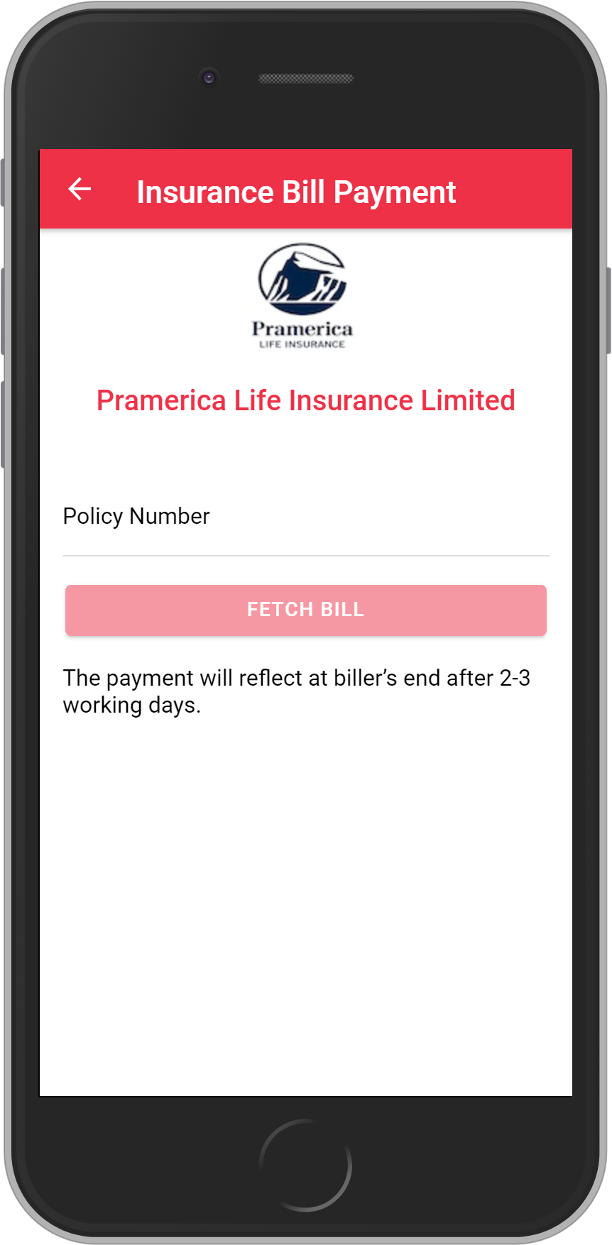 Get UNLIMITED <b>0.10%</b> CASHBACK on Pramerica Life Insurance Limited Payment.
