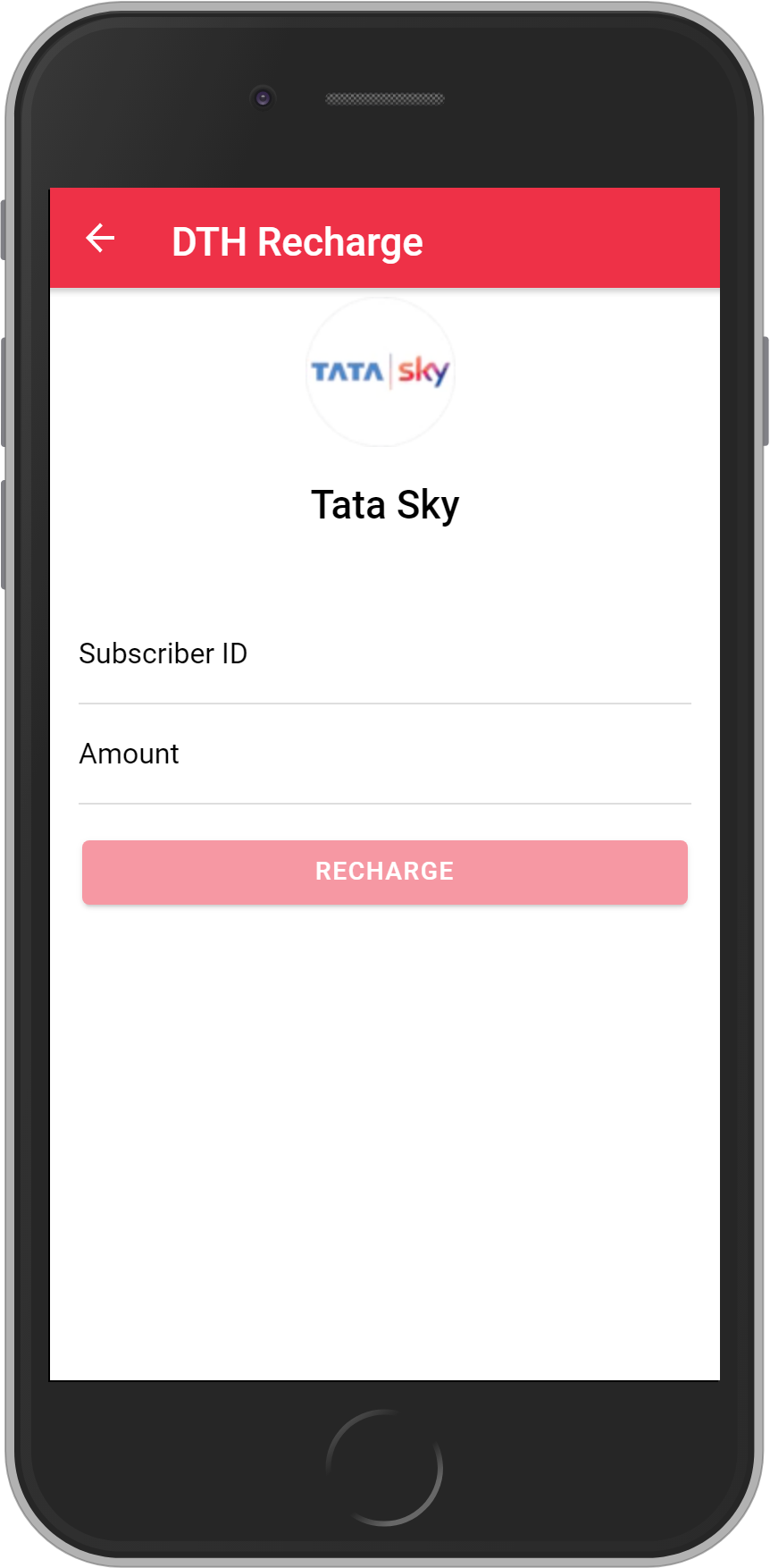 Get UNLIMITED <b>3.25%</b> CASHBACK on Tata Sky DTH Recharges.