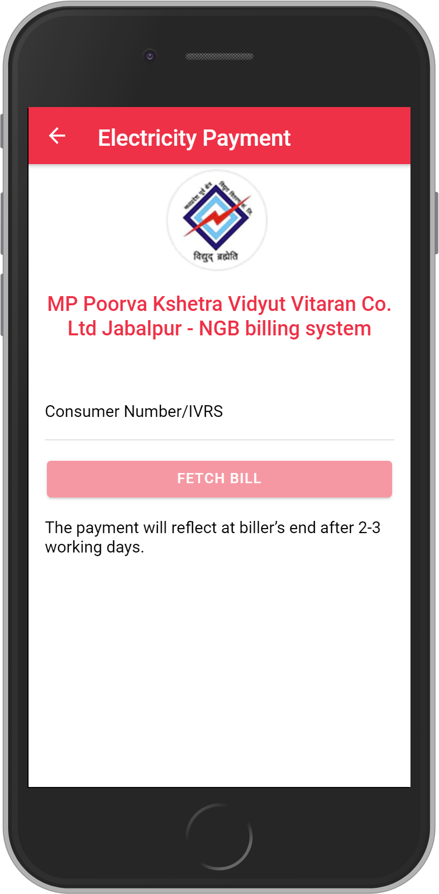 Get UNLIMITED <b>0.1%</b> CASHBACK on MP Poorva Kshetra Vidyut Vitaran Co. Ltd Jabalpur – NGB billing system Bill Payment.