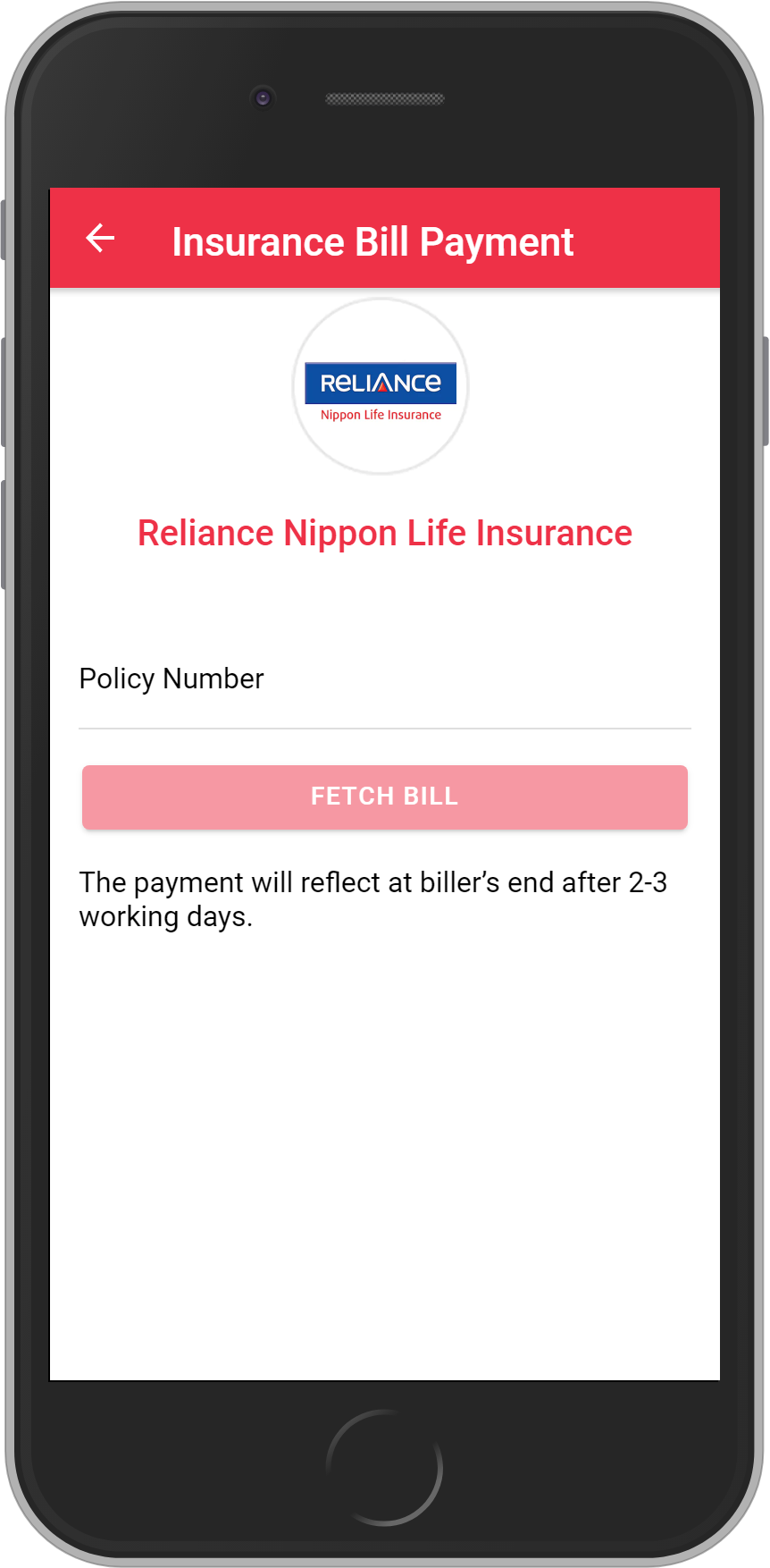 Get UNLIMITED <b>0.10%</b> CASHBACK on Reliance Nippon Life Insurance Payment.
