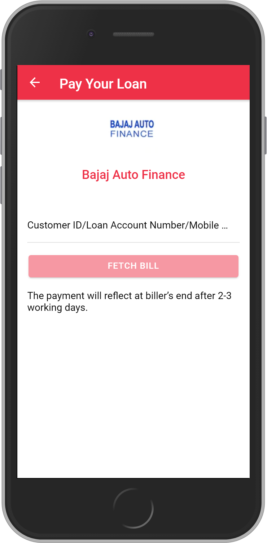 Get UNLIMITED <b>0.1%</b> CASHBACK on Bajaj Auto Finance Loan Payment.