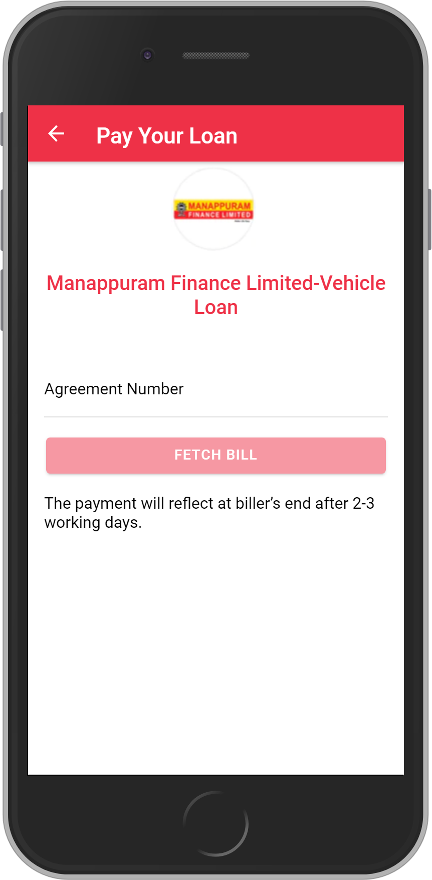 Get UNLIMITED <b>0.1%</b> CASHBACK on Manappuram Finance Limited-Vehicle Loan Loan Payment.