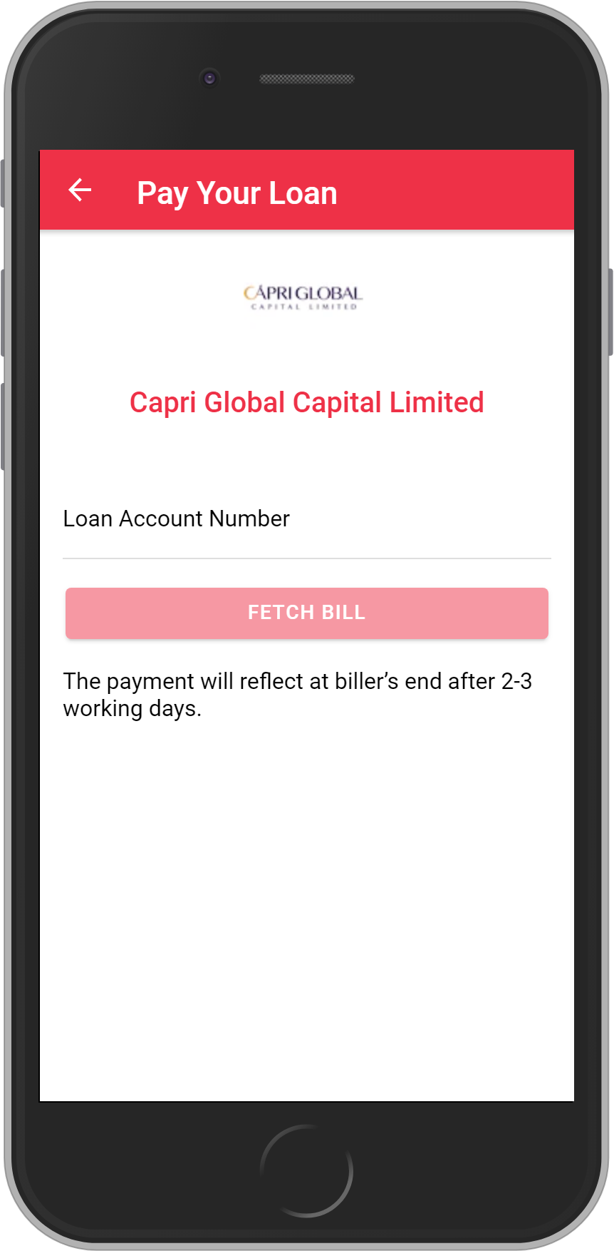 Get UNLIMITED <b>0.1%</b> CASHBACK on Capri Global Capital Limited Loan Payment.
