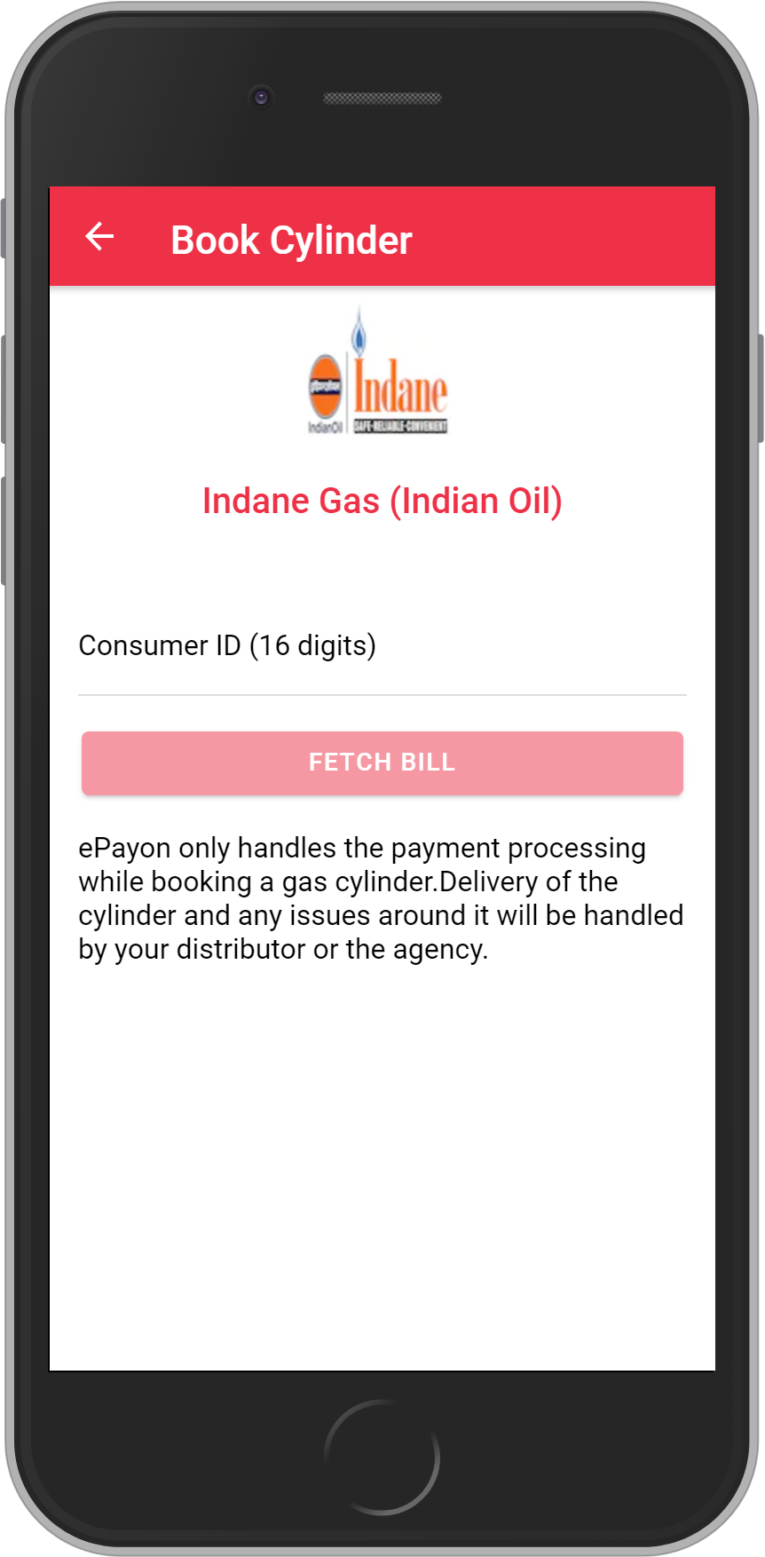 Get Rs. 10 on First cylinder booking(Every month) and than UNLIMITED <b>0.1%</b> CASHBACK on Indane Gas (Indian Oil) Cylinder booking.