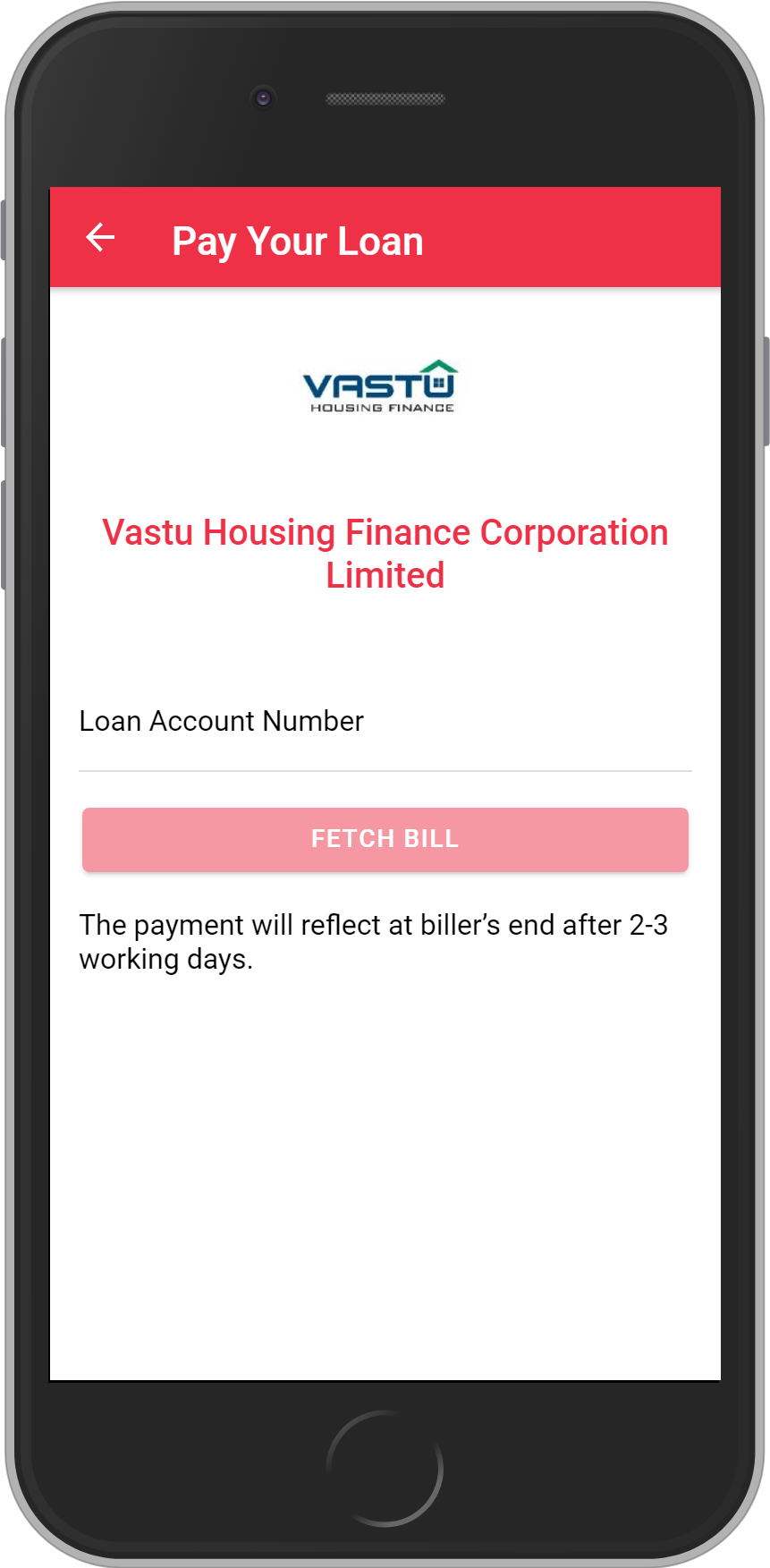 Get UNLIMITED <b>0.1%</b> CASHBACK on Vastu Housing Finance Corporation Limited Loan Payment.