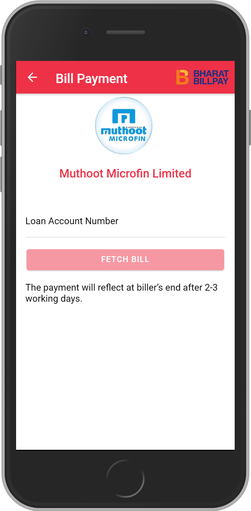 Get UNLIMITED <b>0.1%</b> CASHBACK on Muthoot Microfin Limited Loan Payment.