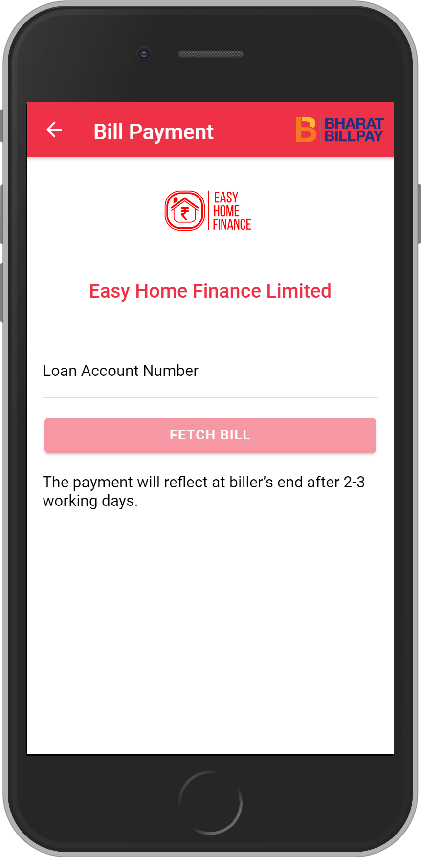 Get UNLIMITED <b>0.1%</b> CASHBACK on Easy Home Finance Limited Loan Payment.