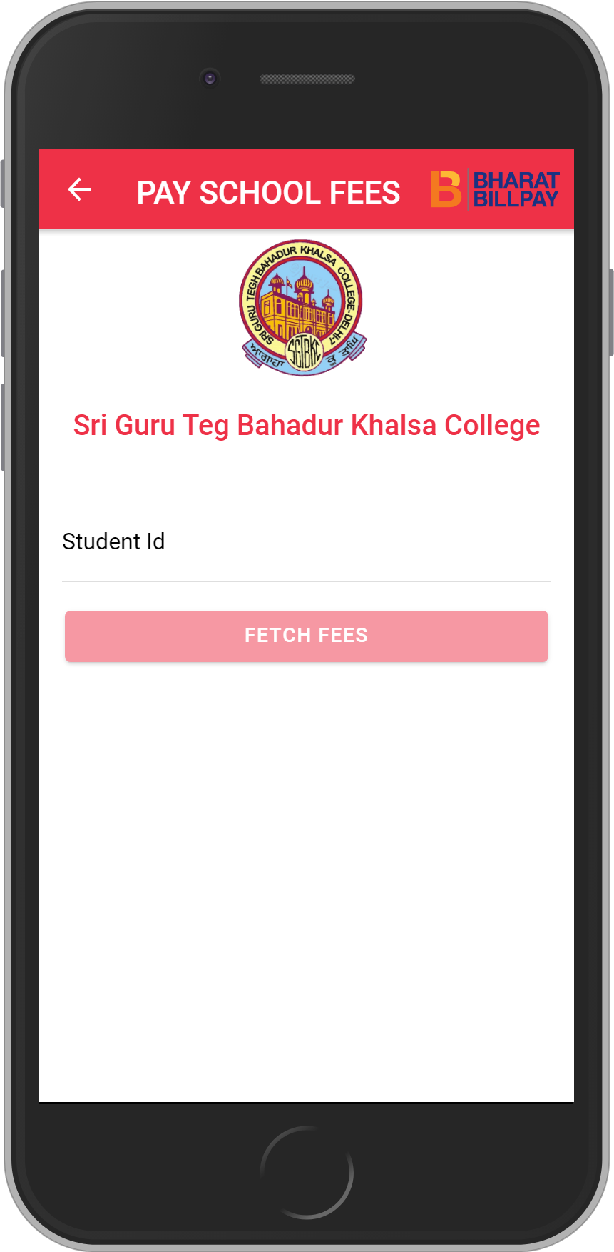 Get UNLIMITED <b>0.1%</b> CASHBACK on Sri Guru Teg Bahadur Khalsa College Fees Payment.