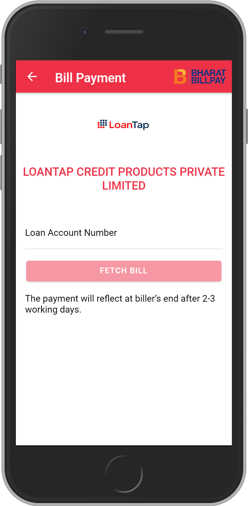 Get UNLIMITED <b>0.1%</b> CASHBACK on LOANTAP CREDIT PRODUCTS PRIVATE LIMITED Loan Payment.