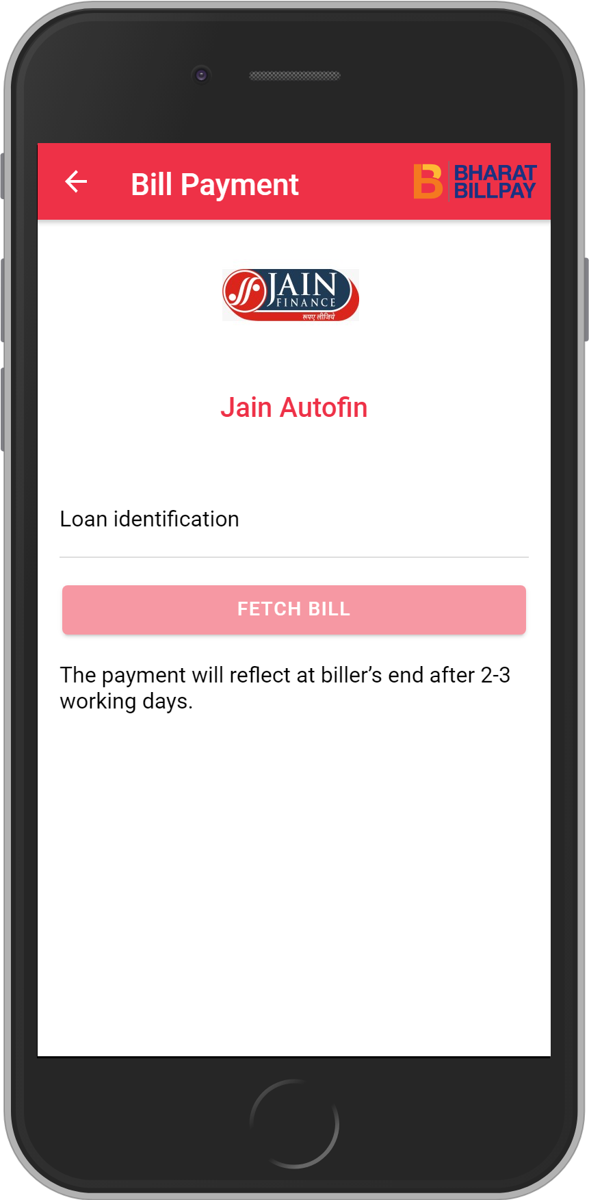 Get UNLIMITED <b>0.1%</b> CASHBACK on Jain Autofin Loan Payment.