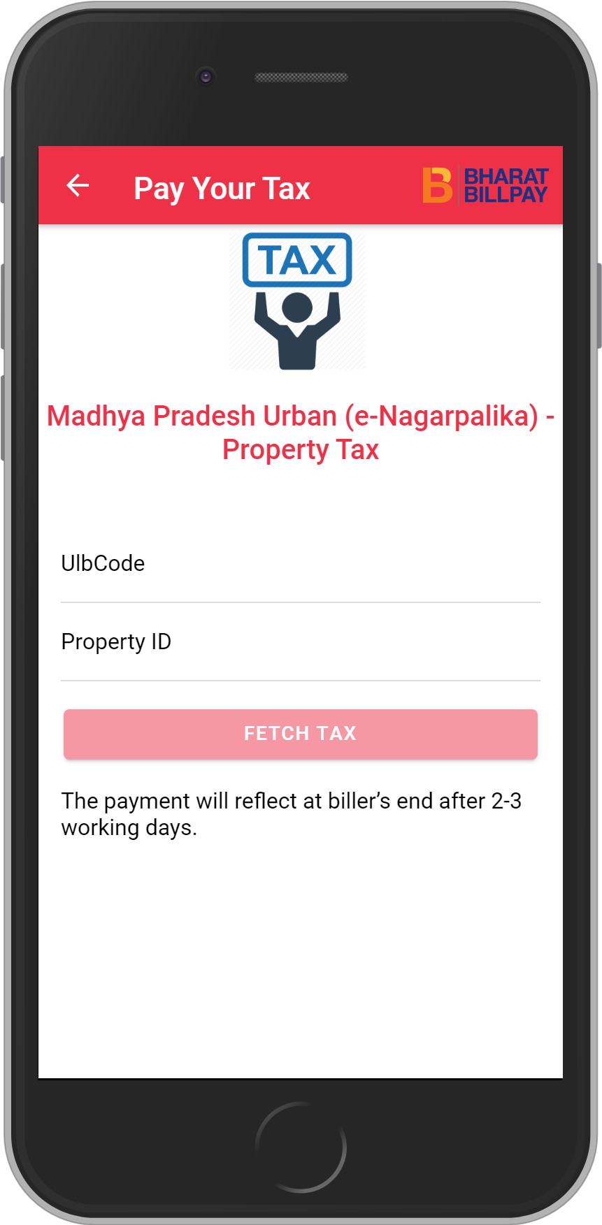 Get UNLIMITED <b>0.1%</b> CASHBACK on Madhya Pradesh Urban (e-Nagarpalika) – Property Tax Recharges.