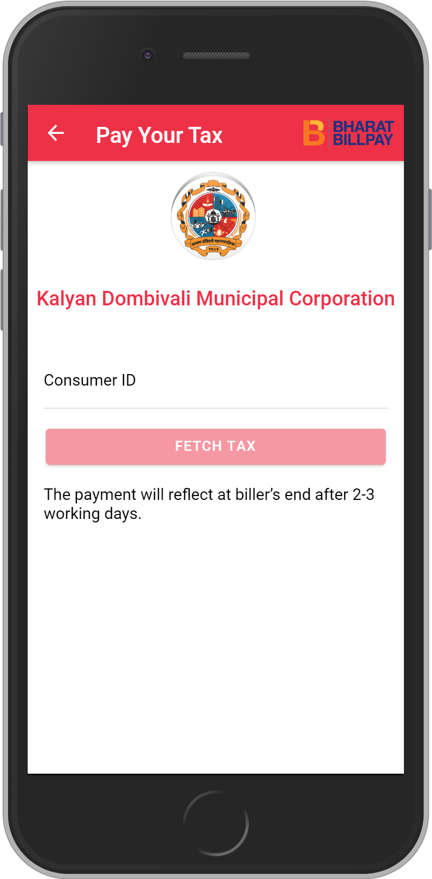 Get UNLIMITED <b>0.1%</b> CASHBACK on Kalyan Dombivali Municipal Corporation Recharges.