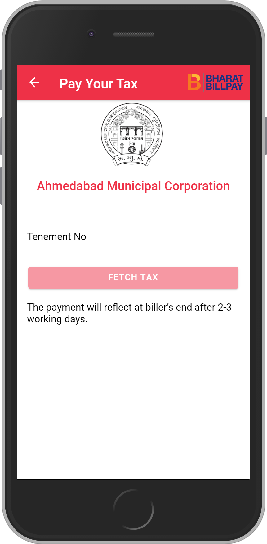Get UNLIMITED <b>0.1%</b> CASHBACK on Ahmedabad Municipal Corporation Recharges.