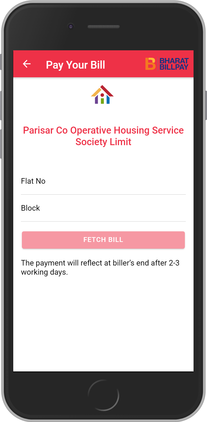Get UNLIMITED <b>0.1%</b> CASHBACK on PARISAR CO OPERATIVE HOUSING SERVICE SOCIETY LIMIT Recharges.