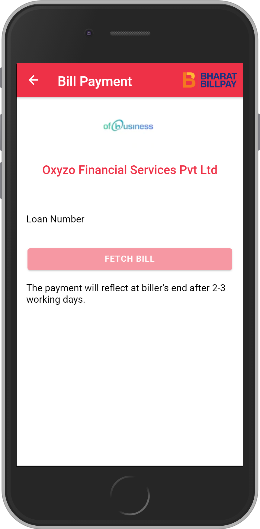 Get UNLIMITED <b>0.1%</b> CASHBACK on Oxyzo Financial Services Pvt Ltd Loan Payment.