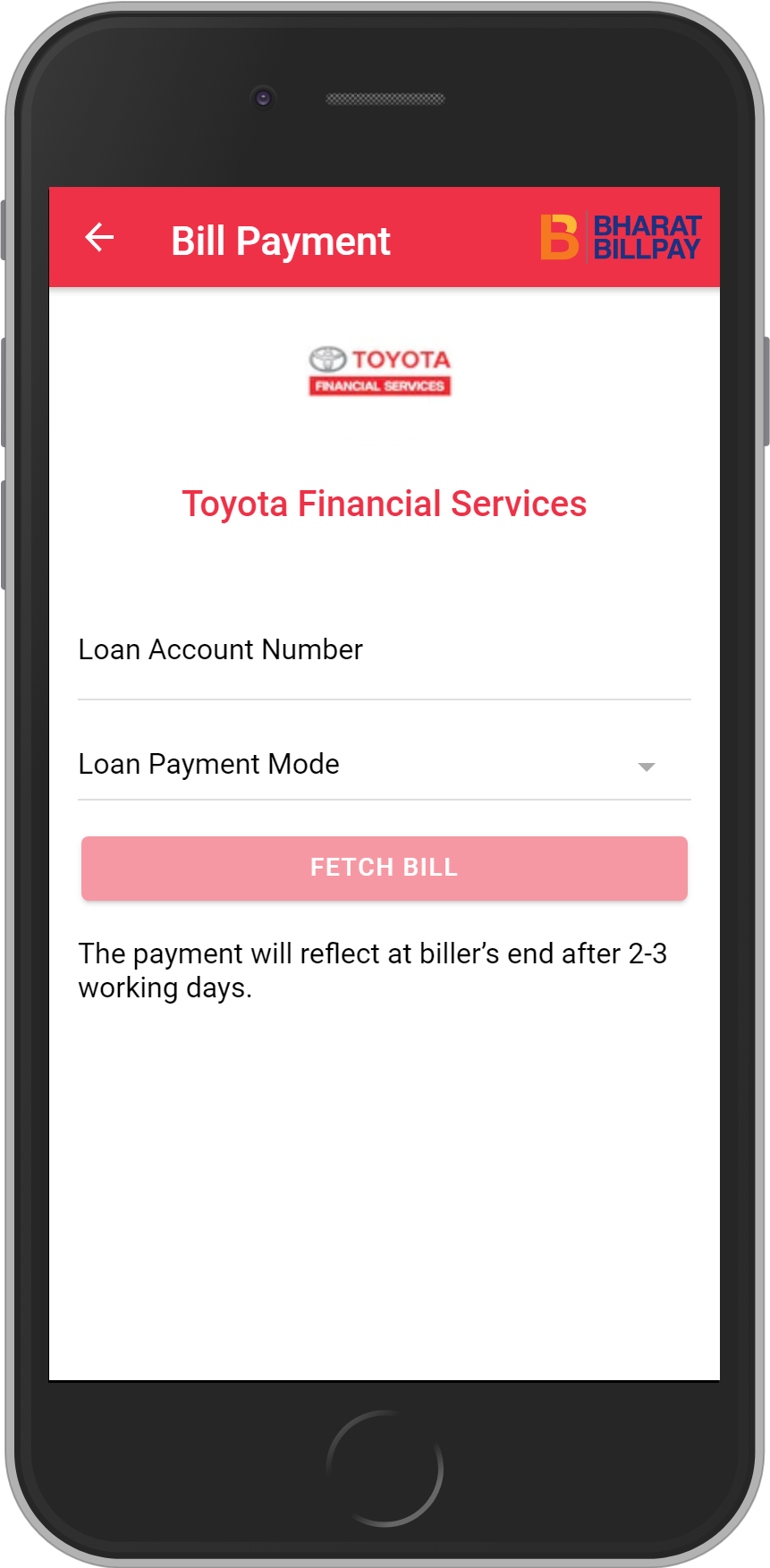 Get UNLIMITED <b>0.1%</b> CASHBACK on Toyota Financial Services Loan Payment.