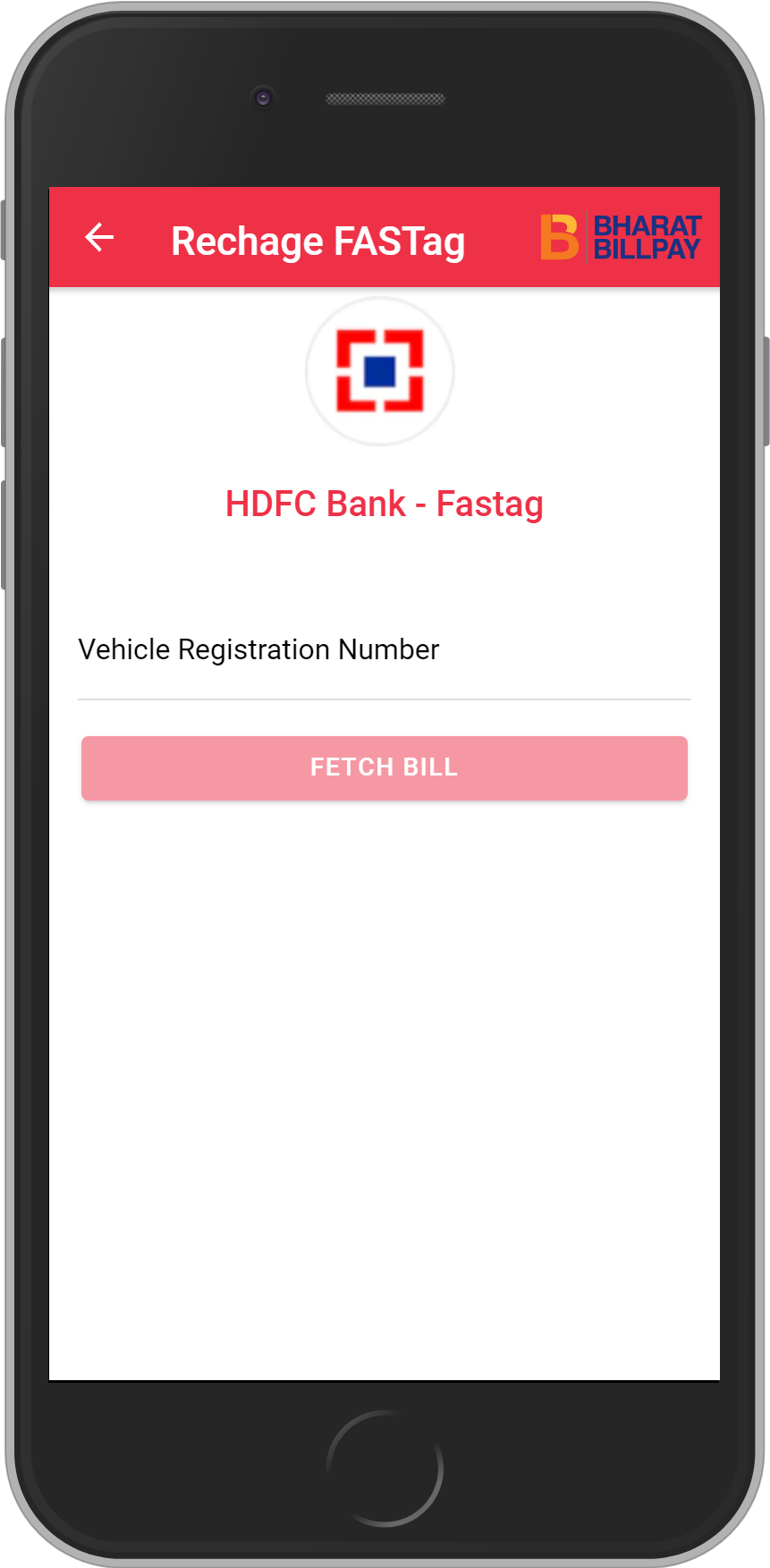 Get UNLIMITED <b>0.1%</b> CASHBACK on HDFC Bank – Fastag Recharge.