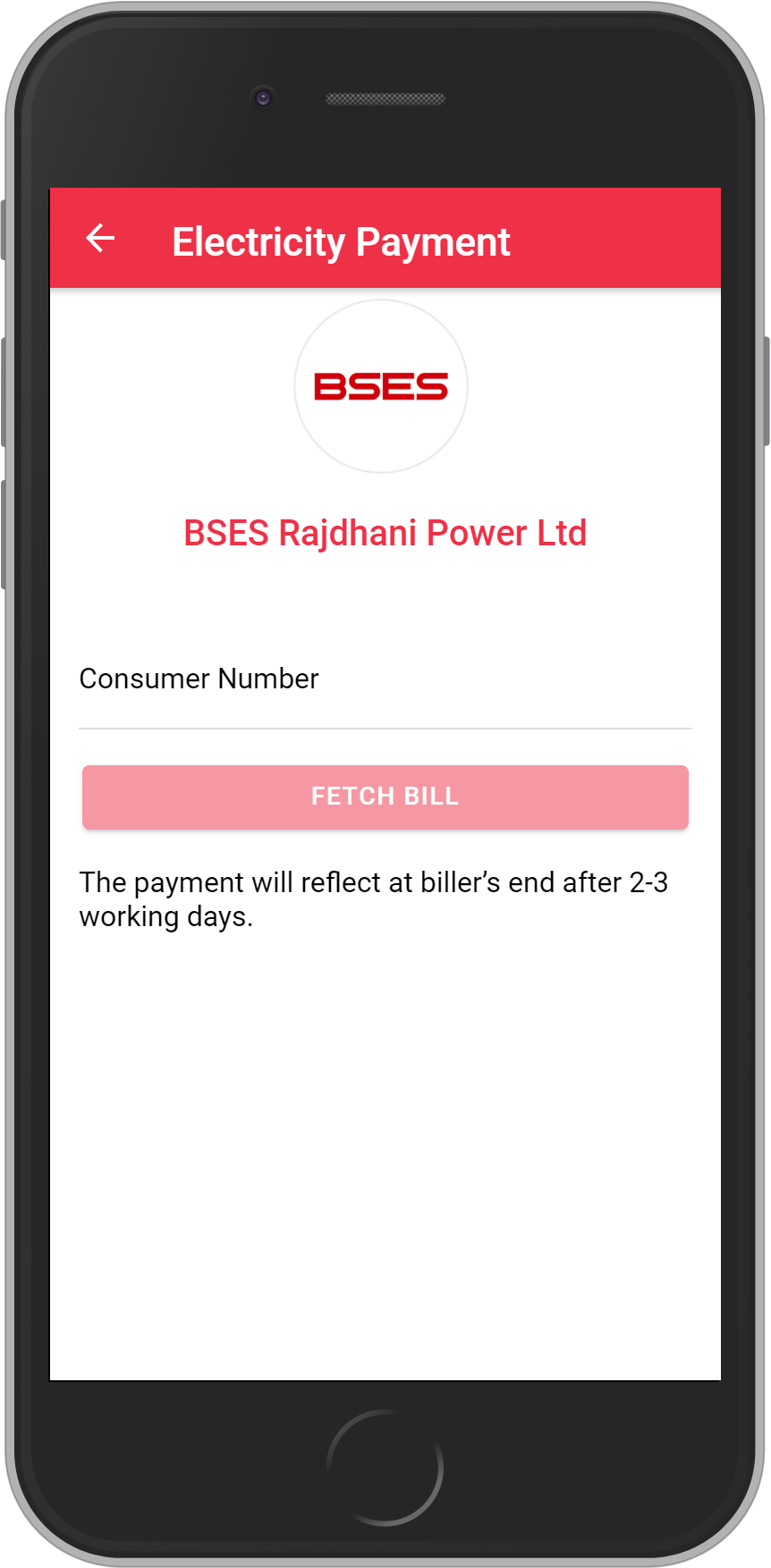 Get UNLIMITED <b>0.1%</b> CASHBACK on BSES Rajdhani Power Limited – Delhi Bill Payment.