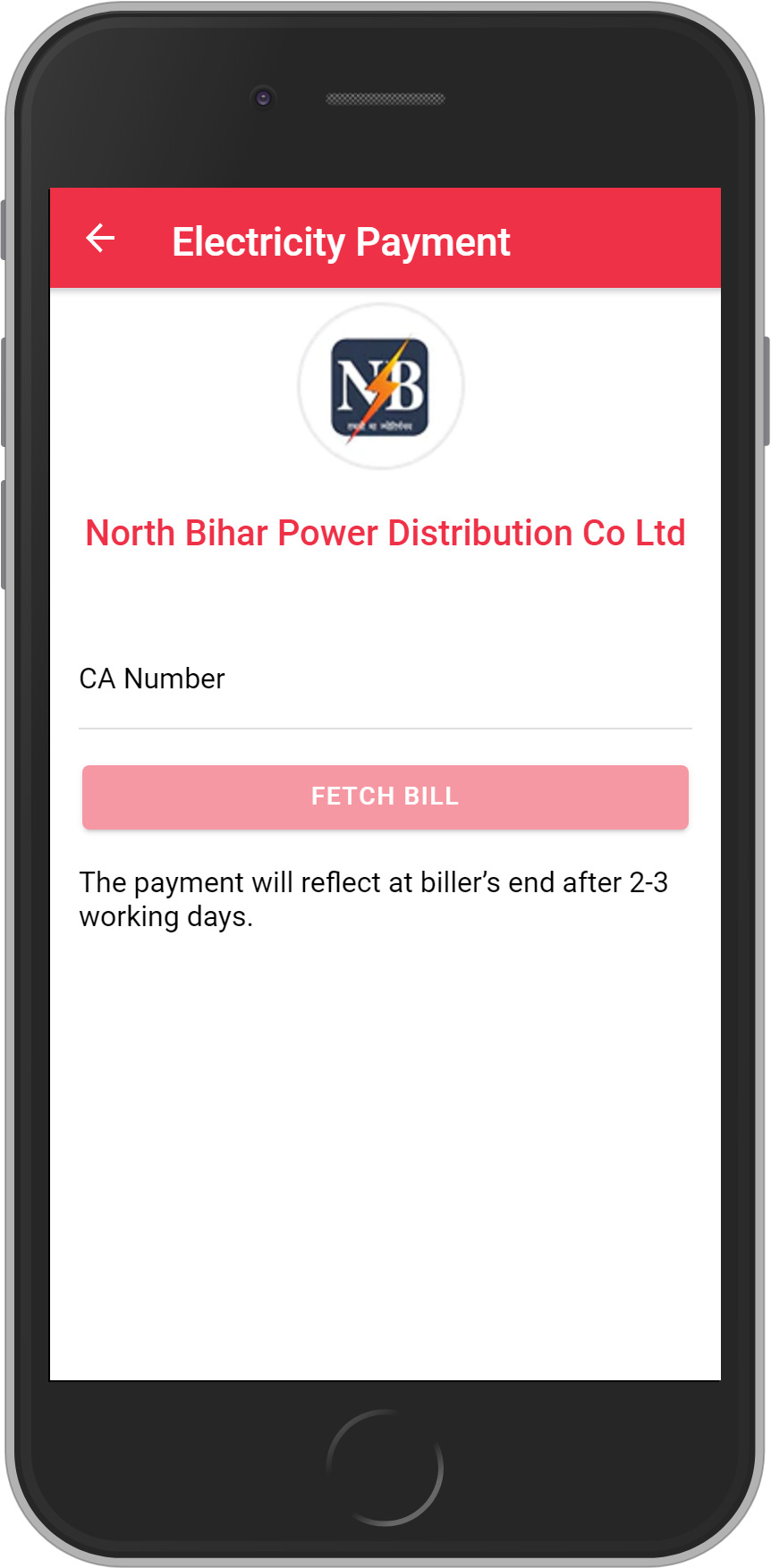 Get UNLIMITED <b>0.1%</b> CASHBACK on North Bihar Electricity Bill Payment.